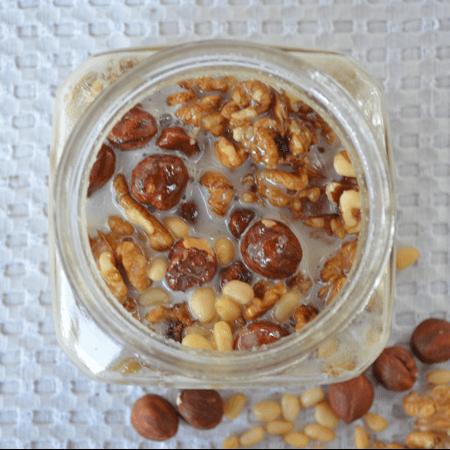 Крем мёд ореховое ассорти